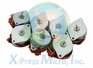 New Lot Of 7 Npm Pf35t 48 Stepper Motor Pf35t Pf35t 48d1