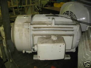 Ge 3 Phase Ac Motor 20hp 1180rpm 460v 5ks286vsp308d8