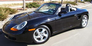 Porsche Boxster Black Stayfast Canvas Soft Top 1997 2002