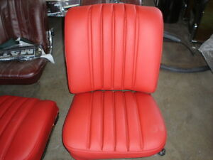 W111 Mercedes Front Seat Covers 220se 250se 280se 300se 61 71 Imported Leather