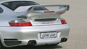 Porsche 911 996 Turbo Gto Sport Rear Decklid Spoiler Wing New