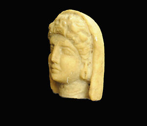 Aphrodite Ancient Hellenistic Head Of A Veiled Woman