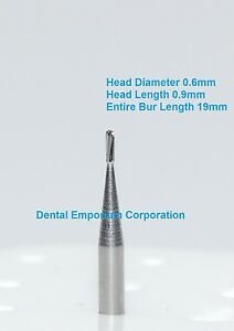 Dental Carbide Burs Fg 329 Pear For High Speed Handpiece 100 Package
