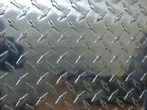 1 8 Aluminum Diamond Or Tread Plate 12 X 24