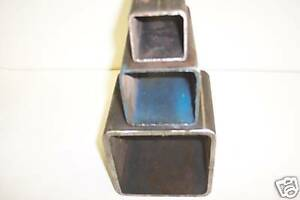 3 X 3 X 3 16 Steel Square Tube 1pc 48 Inches Long