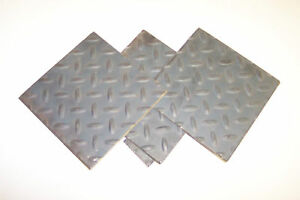1 4 Floor Plate Or Diamond Plate Sheet Steel 12 X 24