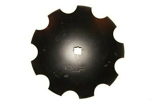 16 Notched Disc Harrow Blades 1 X 1 1 8 Star Punched Hole