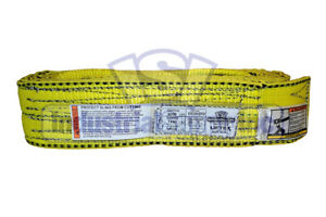Nylon Sling Ee2 903 20 Ft Lifting Tow Strap Web Sling