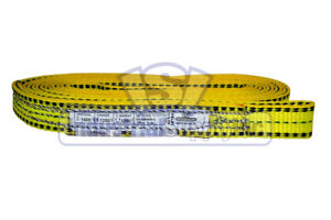 Lifting Web Sling 1 X 16 Ft One Ply Flat Eye Type 3 Polyester