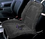 Sheepskin Seat Cushion Cover Std Car Truck Or Suv Seats Black Universal Fit