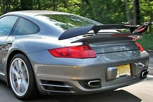 Porsche 997 Turbo Gtr Ii Add On Carbon Fiber Top Wing