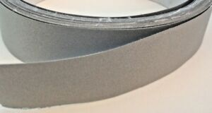 Reflective Sew on Safety Fabric Trim Strip 1 Wide 300 Feet