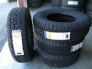 4 New 235 75r15 Goodyear Wrangler Radial Tires 75r 2357515 R15 235 75 15