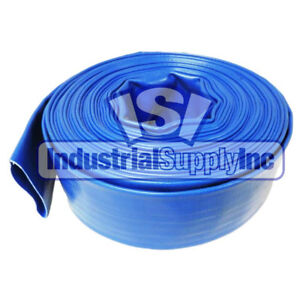 Water Discharge Hose 2 Blue Import 100 Ft Without Fittings