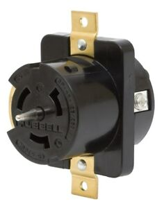 Cs6369l 50 Amp 125 250v Female Receptacle Hubbell