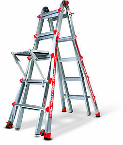 22 Little Giant Ladder 250 Lb Alta One Free Platform