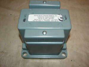 Instrument Transformers Inc 460 069 Transformer box Of 4 nib