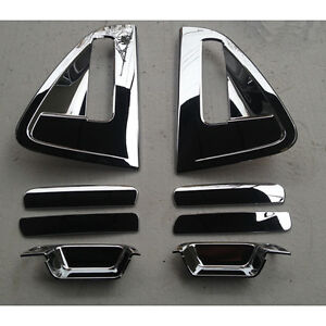 Chrome Door Handle Cover 8p 1set For 10 11 12 13 14 15 Chevy Holden Spark Matiz