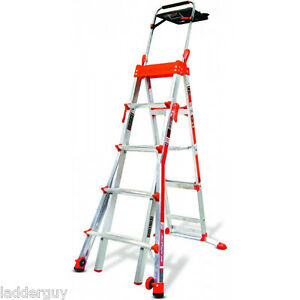 Little Giant Select Step Ladder 5 8 Airdeck 15125 New