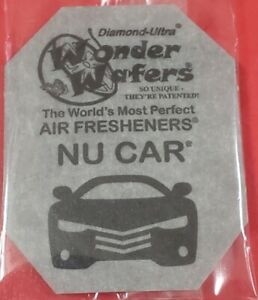16 Wonder Wafers Nu Car Scent amazingly Fresh cheap Air Freshener Car Home