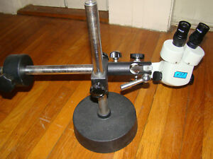Cole Parmer Stereo Microscope With Boom Stand