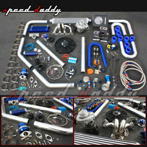 H22 Accord Prelude Integra 2 2 T3 T4 Turbo Charger Manifold Intercooler Full Kit