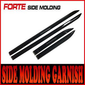 Side Door Protector Molding Genuine Painted For 2010 2011 2012 Kia Forte Cerato