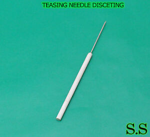100 Teasing Needles Dissecting Surgical Veterinary Economy Grade