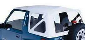 95 98 Suzuki Sidekick Geo Tracker Soft Top White