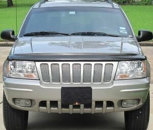Chrome Mesh Grille Grill Kit For Jeep Grand Cherokee 04 2004
