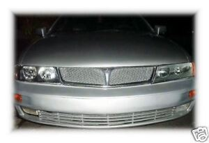 Chrome Mesh Grille Grill Kit For Mitsubishi Diamante 97 98 99 00 01