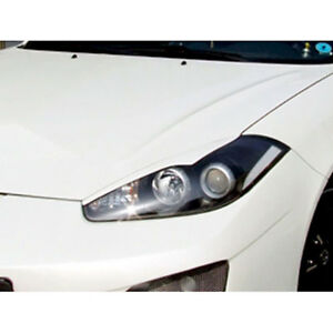 Headlight Eyebrow Eyelid For Hyundai Tiburon Tuscani