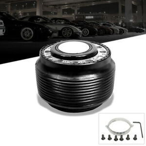 For Eclipse Lancer Steering Wheel 6 Holes Ball Bearing Quick Release Hub Adapter
