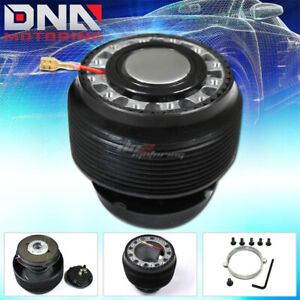 Civic Crx Ef Da6 Steering Wheel 6 Holes Ball Bearing Quick Release Hub Adapter