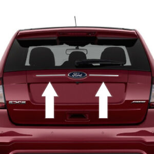 Chrome Rear Trunk Hatch Trim Molding For Ford Edge 2011 2012 2013 2014
