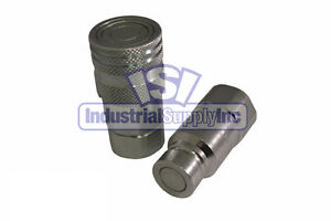 1 2 Skid steer Hydraulic Quick Coupler Iso 16028