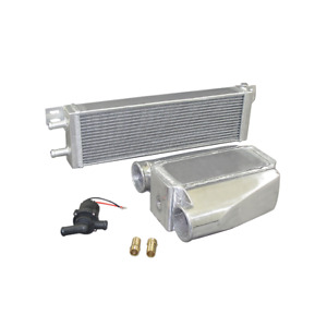 Water To Air Intercooler Liquid Heat Exchanger Pump