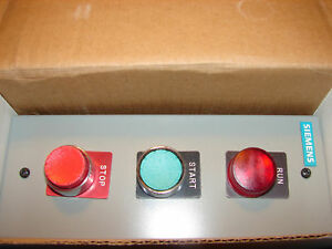 new Siemens Push Button Station Switch Control 22 Mm