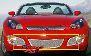 Fits Saturn Sky Red Line Bumper Stainless Mesh Grille 07 09