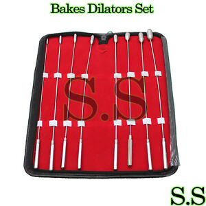 Bakes Rosebud Urethral Dilators Sounds Urethral 8 Piece Kit