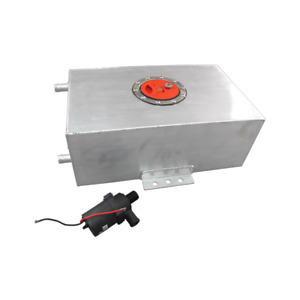 Ice Box Tank Air To Water Intercooler 4 Gal Water Pump
