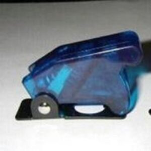 1pcs Toggle Switch Racing Light Safety Cover guard Light Blue 12mm