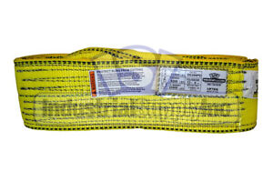 Nylon Sling Ee2 904 12 Ft Lifting Tow Strap Web Sling