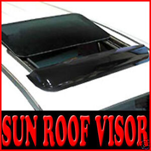 Sun Roof Smoked Rain Visor Universal Fit Size Medium