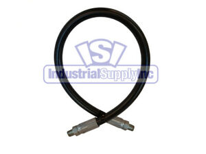 3 8 X 240 2 wire Hydraulic Hose Assembly W male Npt