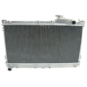 Aluminum Radiator For 90 97 Mazda Miata 1 6l 1 8l Mt Manual