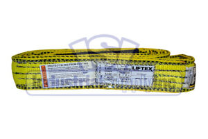 Lifting Web Sling 2 X 6 Ft Two Ply Flat Eye Type 3 Polyester
