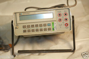 Hp 3468a Agilent Multimeter