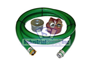 2 Heavy Duty Usa Water Suction Discharge Hose With Pin Lug