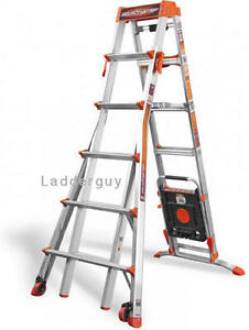 Little Giant Select Step Ladder 6 10 Airdeck 15109 001 Selectstep With Wheels